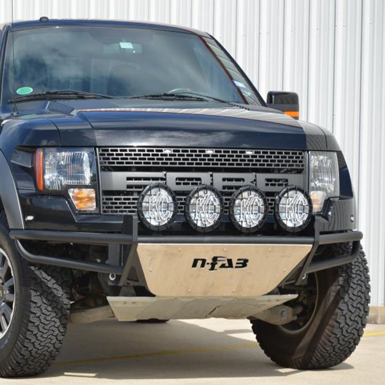 Picture of FRONT METAL BUMPER type A (DES-NFAB)-Ford F150
