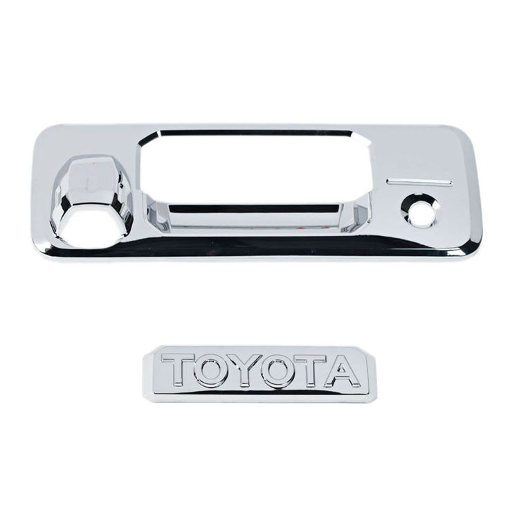 Picture of REAR DOOR HANDLE COVER WITH CAMERA HOLE(2014-2019) - Toyota Tundra